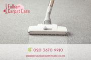 Efficient Carpet Cleaning in Fulham