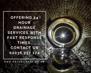 Offering 24 Hour Drainage Services With Fast Response Times, Contact Us